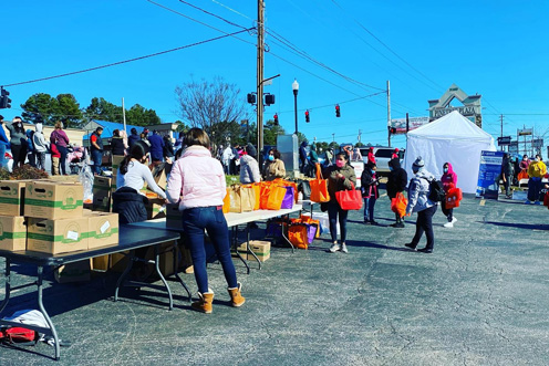 community giving event