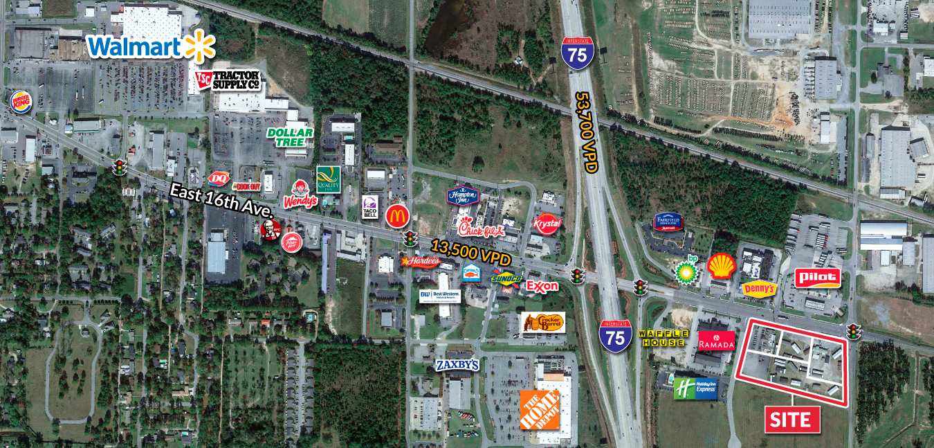 Interstate Pad Sites Available