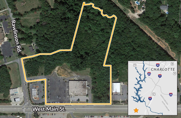 Land for commercial development in Rock Hill SC