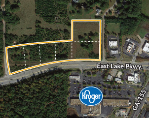 Commercial Pad Sites Available in McDonough
