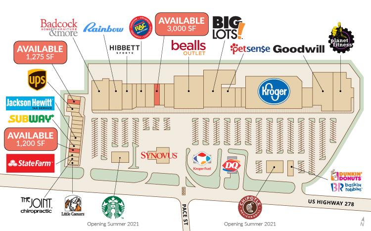 Newton Plaza Site Plan