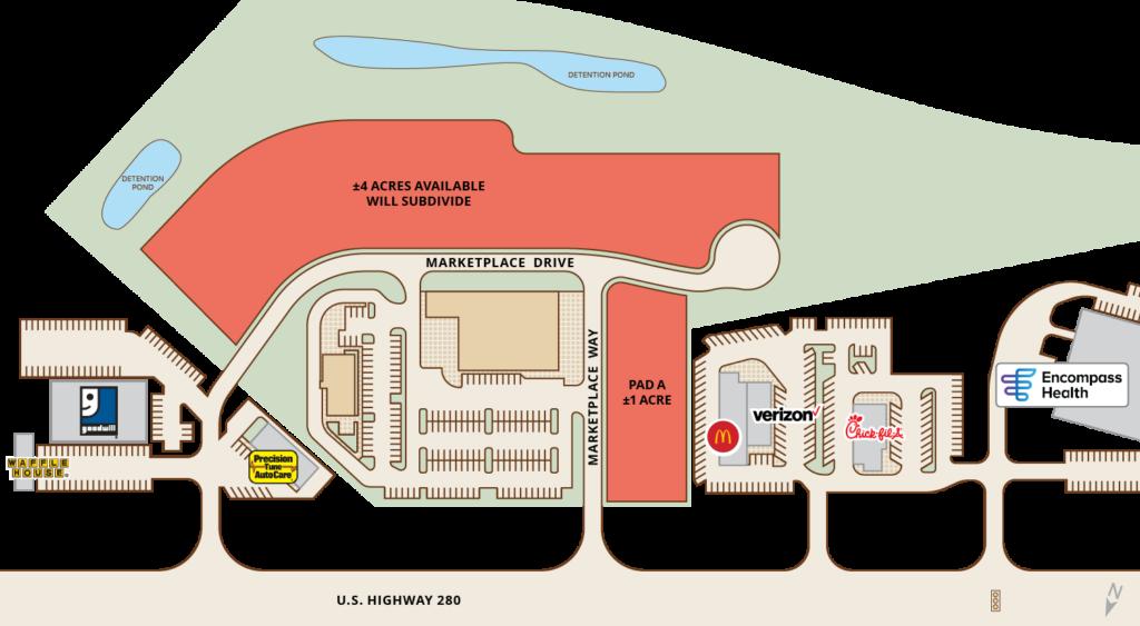 Phenix City Marketplace Site Plan