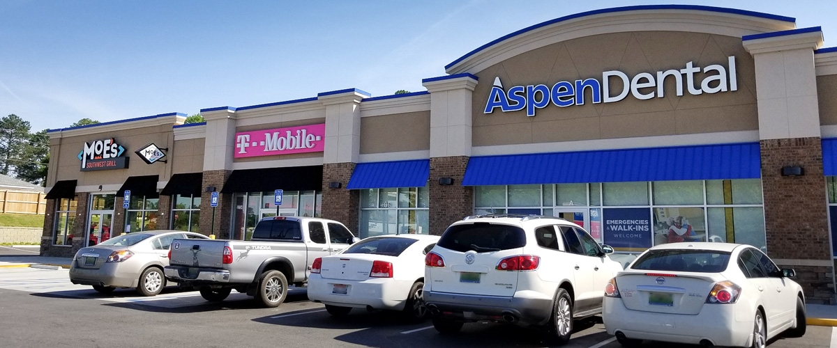 Aspen Dental, Moe's, T-Mobile - Phenix City, AL - Halpern