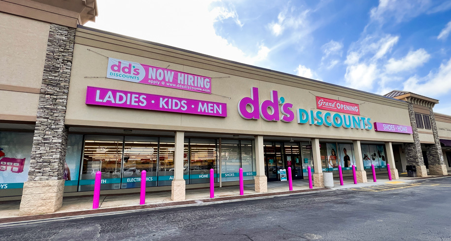 DD's Discounts Open at Pinetree Plaza on Buford Highway